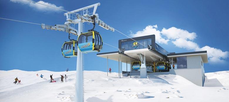 Neue Möslbahn in Mayrhofen