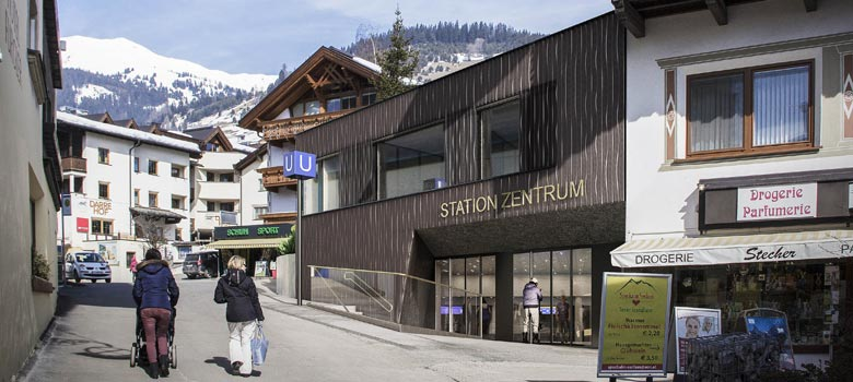 Station der neuen Dorfbahn Serfaus
