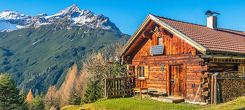 Ferienhaus von Interchalet in den Bergen