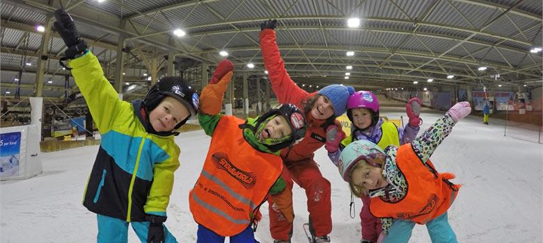 Kinder-Skikurs in der SnowWorld Landgraaf