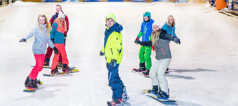 Skikurs für Erwachsene in der SnowWorld Landgraaf