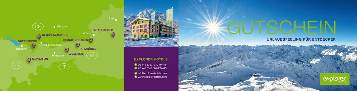 Gutschein der Explorer Hotels
