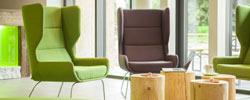 Lounge im Explorer Hotel Neuschwanstein
