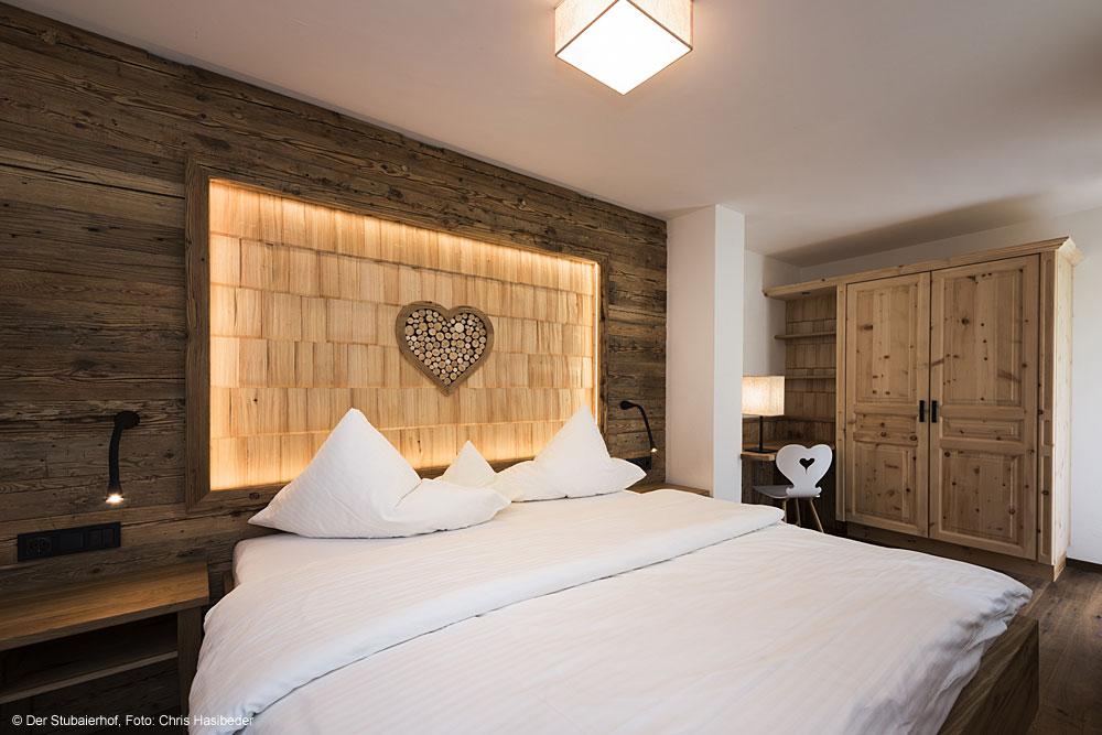 Herzeben-Suite im Hotel Der Stubaierhof