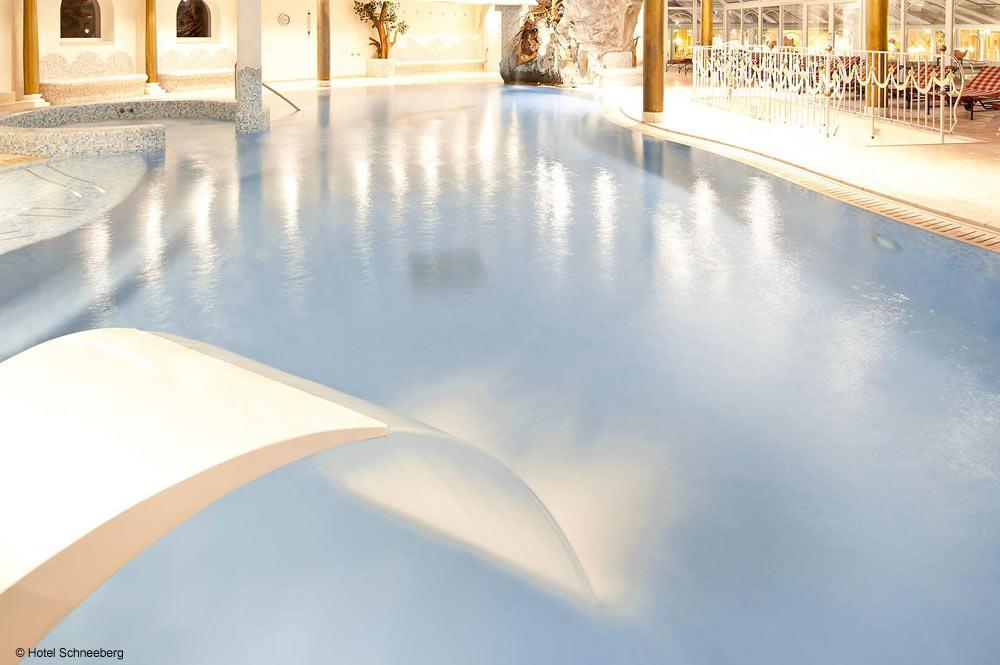 Pool im Hotel Schneeberg