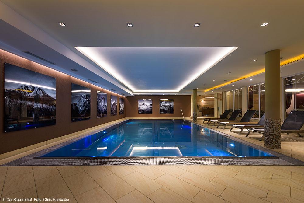 Pool im Hotel Der Stubaierhof