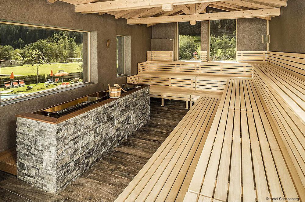 Sauna im Hotel Schneeberg