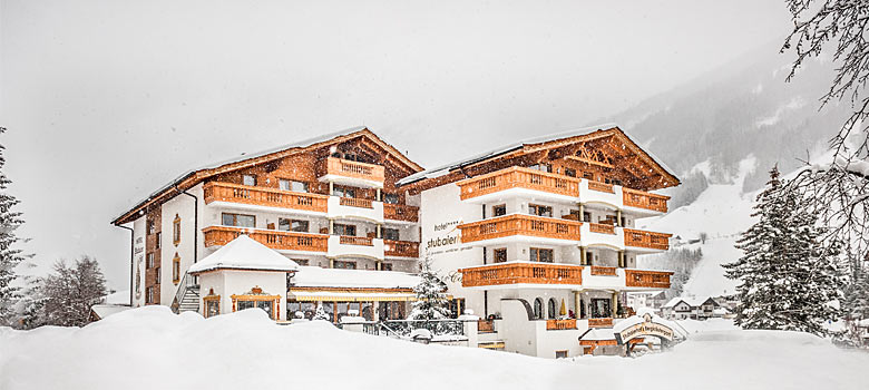 Hotel Stubaierhof im Winter