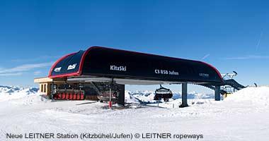 Bergstation Jufen von LEITNER ropeways