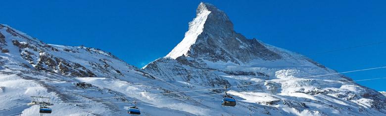 Seilbahn vor dem Matterhorn