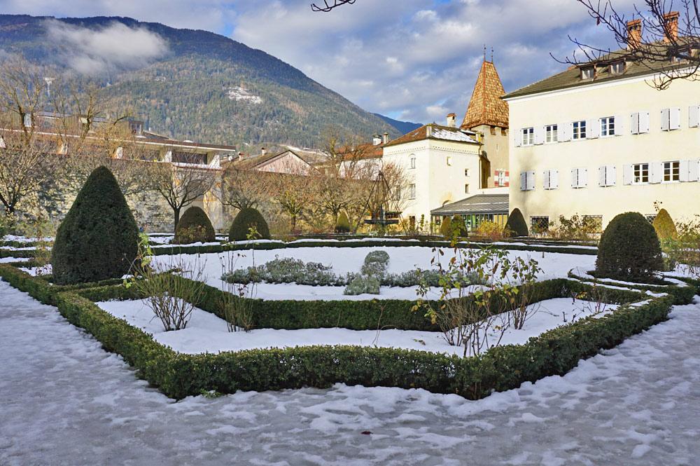 Der Schlossgarten von Brixen