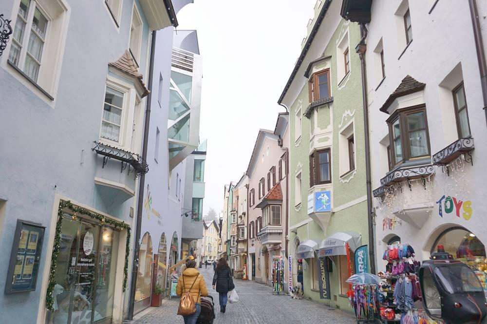 Blick in die Sterzinger Altstadt