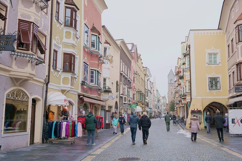 Blick in die Neustadt von Sterzing