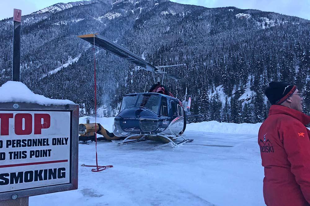 Helikopter fürs Heliskiing