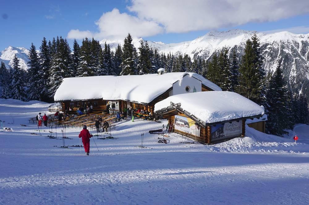 Armins Waldhütte im Skigebiet Ratschings-Jaufen