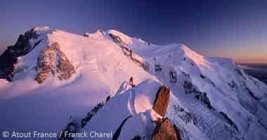 Blick auf den Mont-Blanc