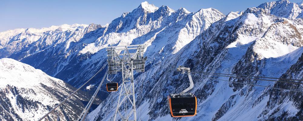 Eisgratbahn am Stubaier Gletscher