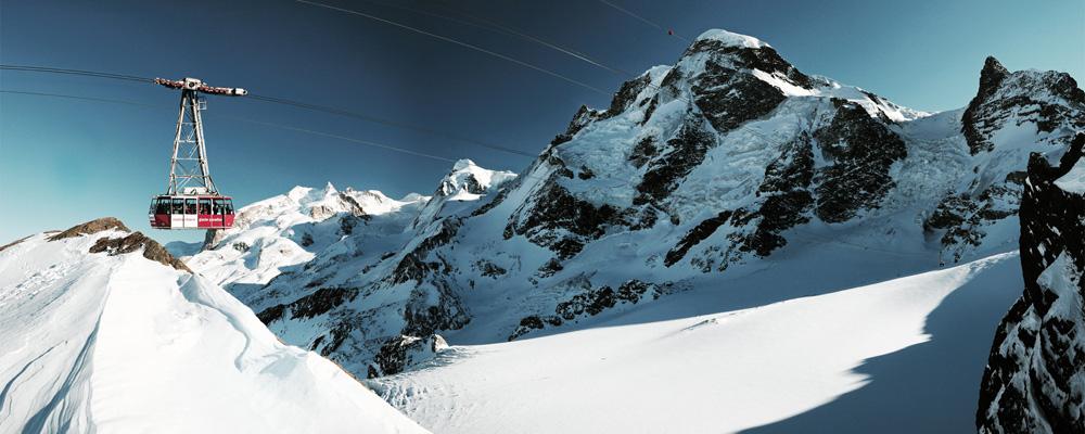 Pendelbahn aufs Klein Matterhorn