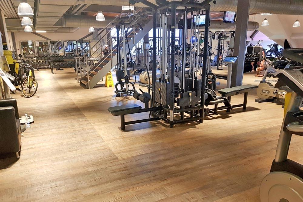 Fitnessraum im SnowWorld Landgraaf