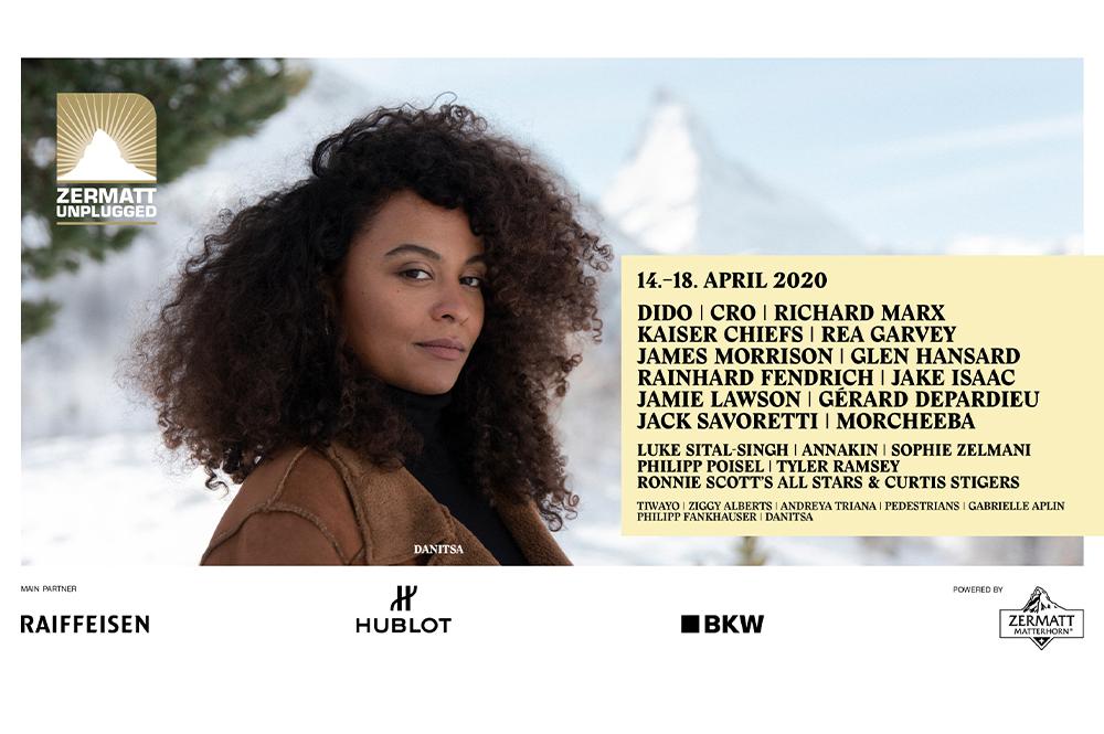 Programmteaser des Zermatt Unplugged 2020