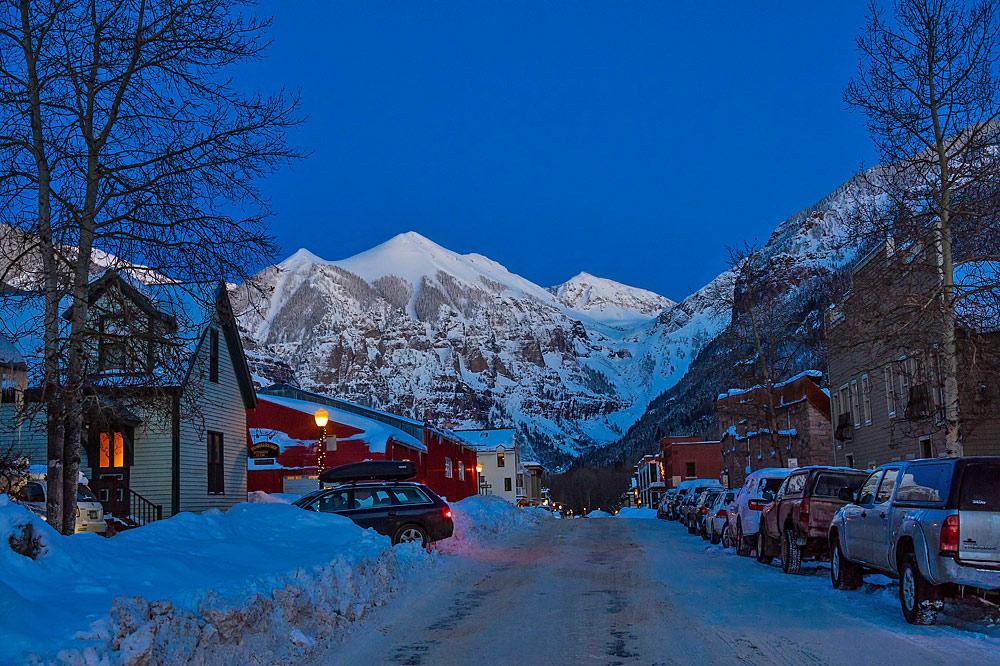 Skiort Telluride in den USA