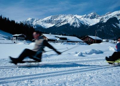 Wintersport für Rollifahrer