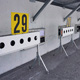 Schießstand in der Biathlon Arena Lenzerheide