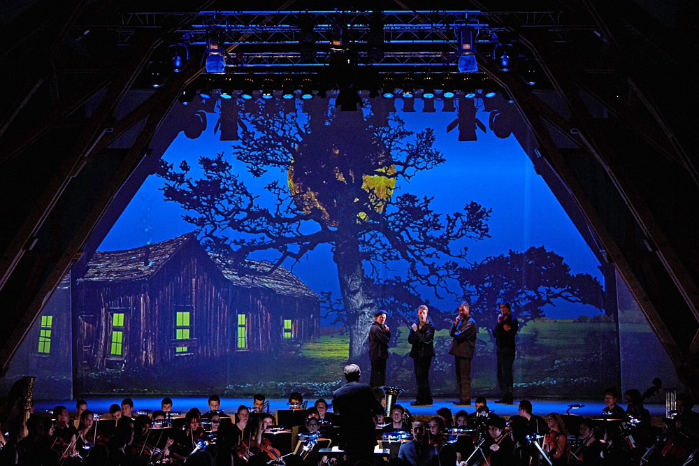 Opernaufführung Der Mond von Carl Orff