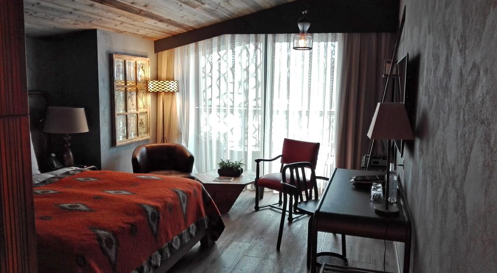 Zimmer im Hotel Valsana in Arosa