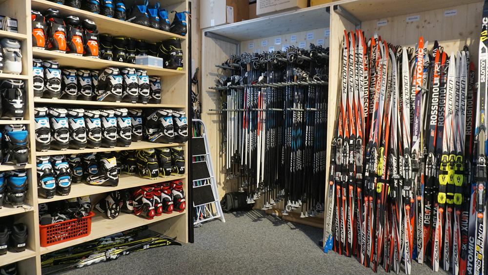 Activ Sport Shop Basler in der Biathlon Arena Lenzerheide