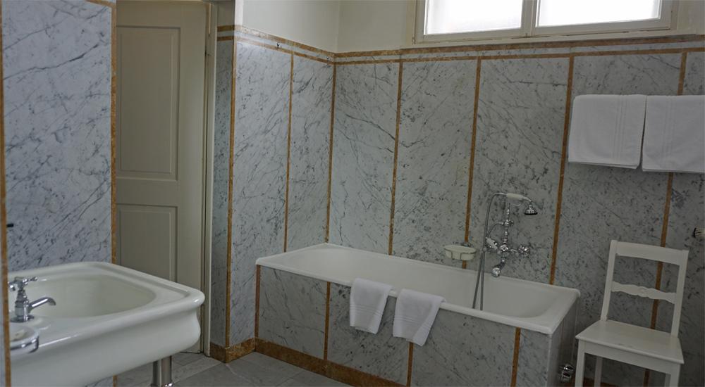Bad im Kaiserzimmer der Schatzalp