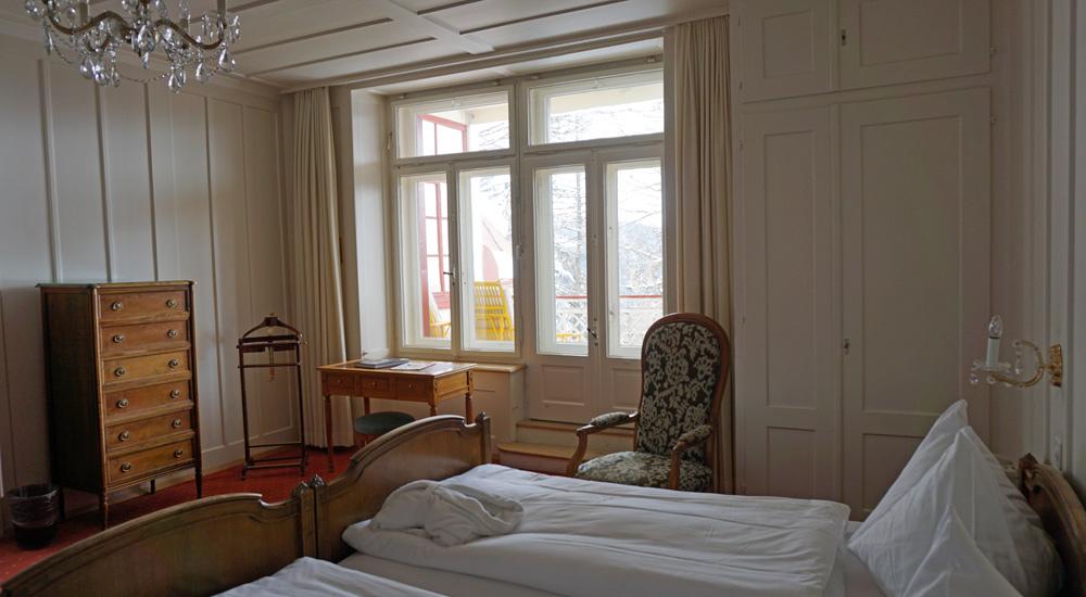 Kaiserzimmer im Hotel Schatzalp