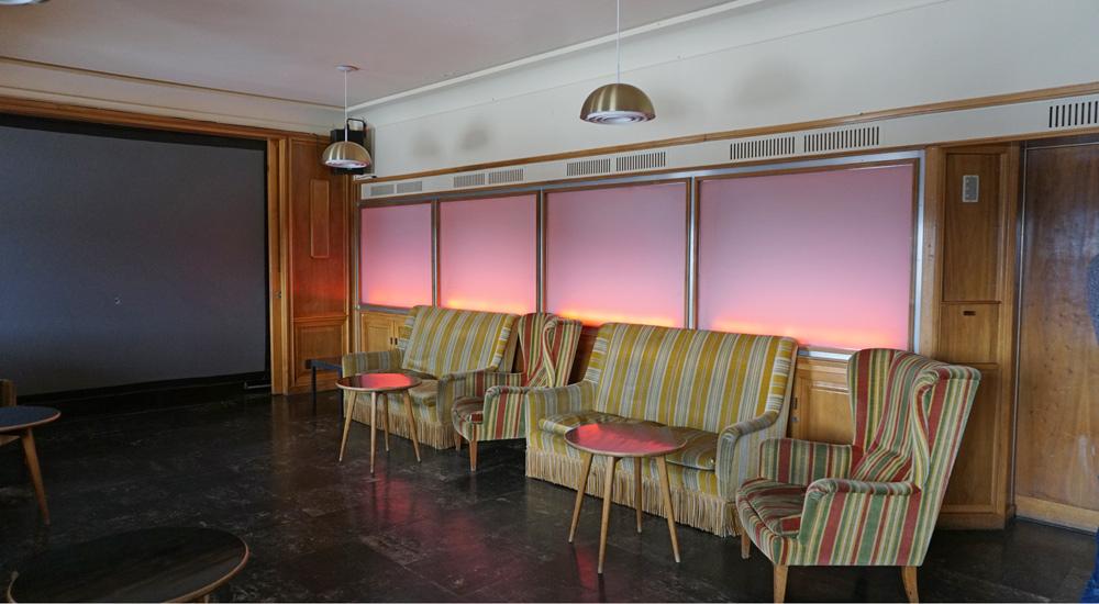 Ehemaliger Röntgenraum im Hotel Schatzalp