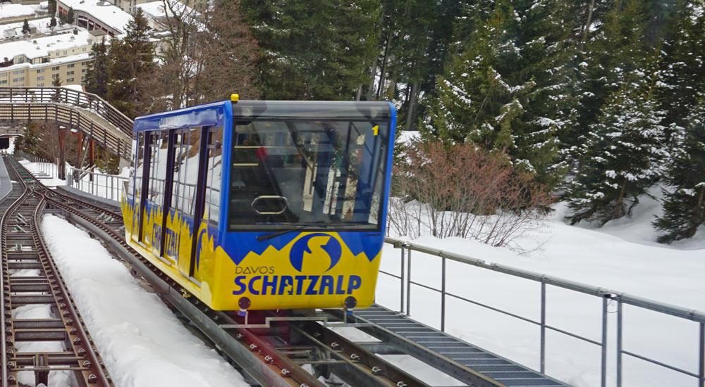 Schatzalpbahn in Davos