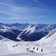 Ausblick vom Skigebiet Parsenn