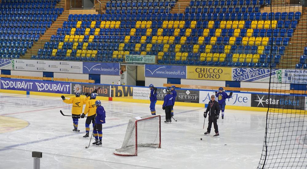 Training des HC Davos
