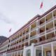 Blick auf das Hotel Schatzalp