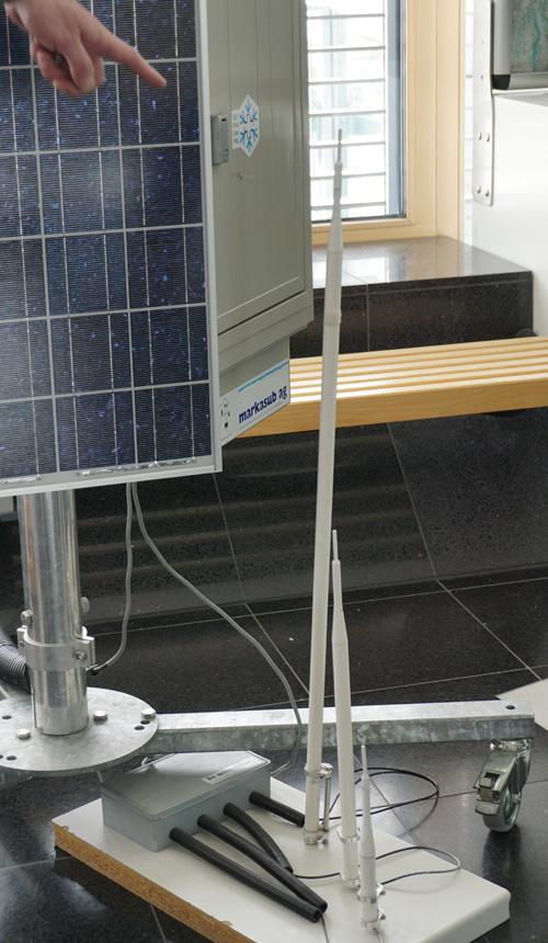Geräte einer Messstation im SLF