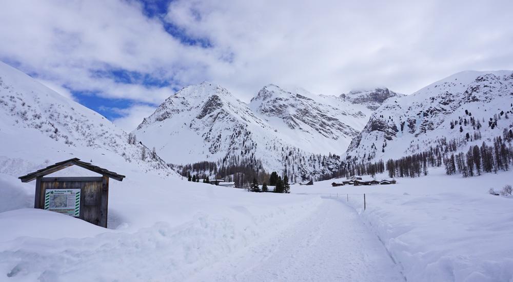 Seitental Sertig bei Davos