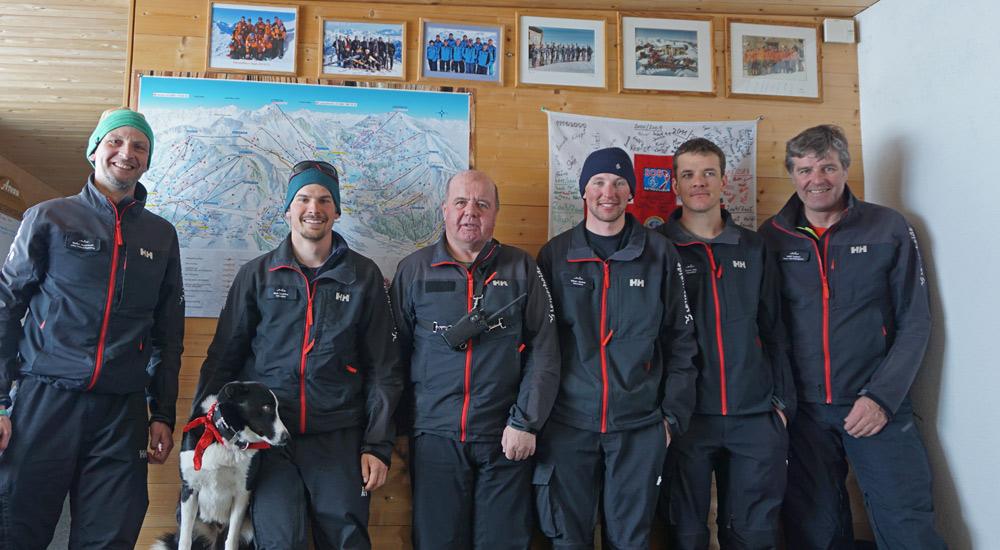 Das Pistenteam der Arosa Bergbahnen