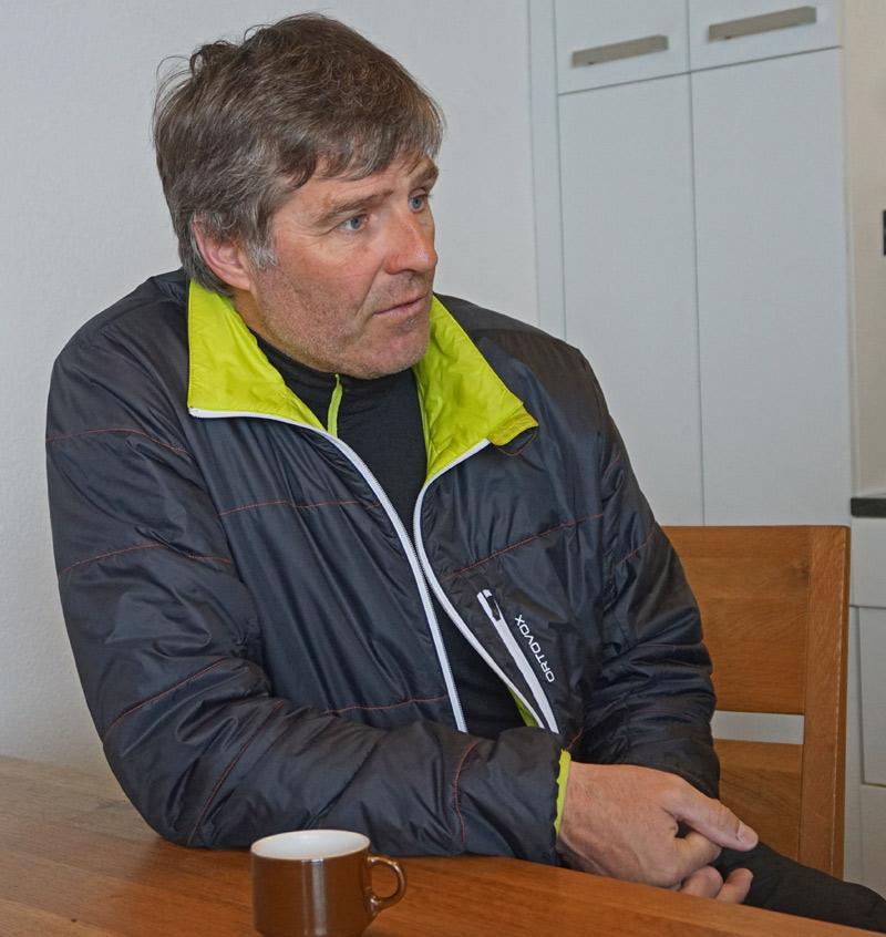 Wadi Tschanz, Pistenrettungschef von Arosa Bergbahnen