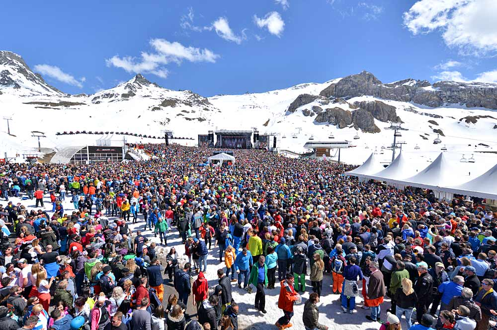 Top of the Mountain Closing Concert in Ischgl