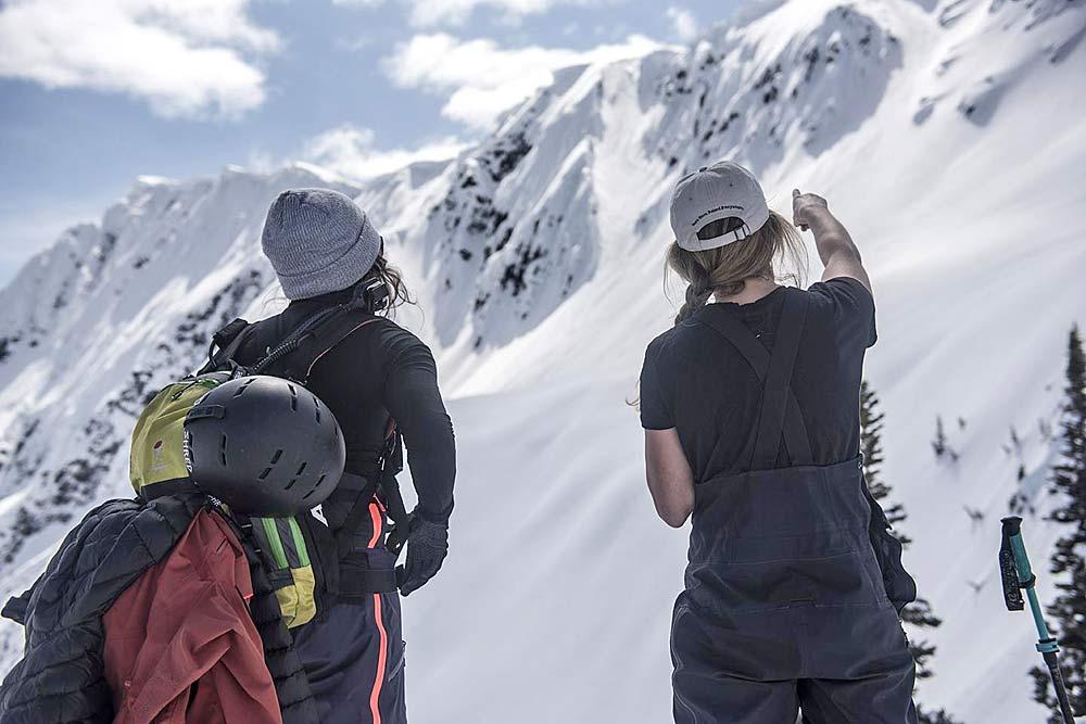 Gewinnspiel für Skifahrerinnen