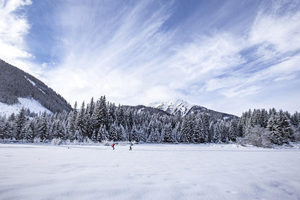 Langläufer in Osttirol