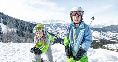 Kinder im Snow Space Salzburg