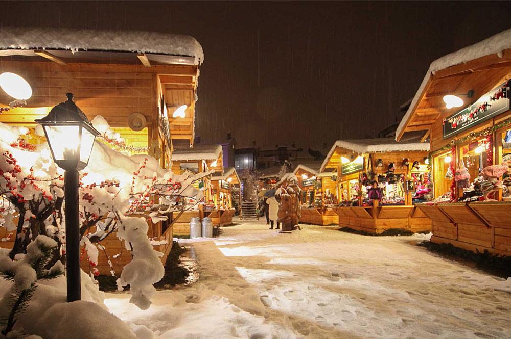 Adventsmarkt Marché Vert Noel in Aosta