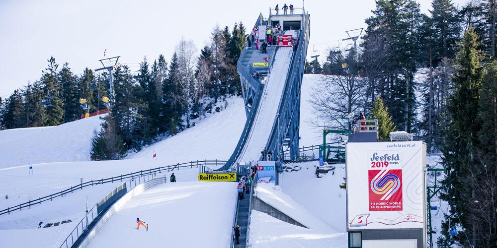 Skisprungschanze Toni Seelos in Seefeld