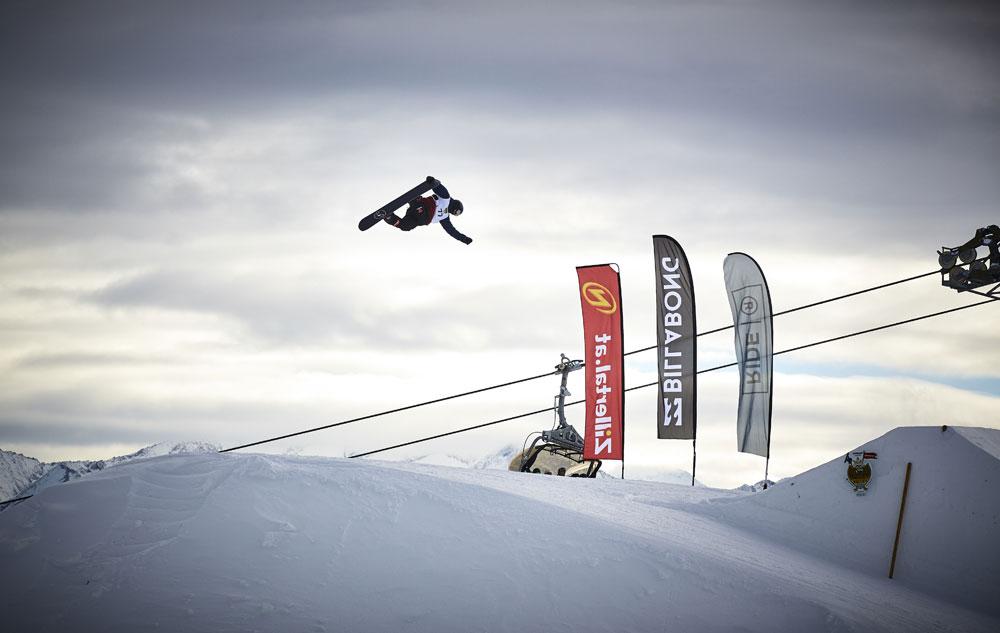 Snowboarder im Hochzillertal
