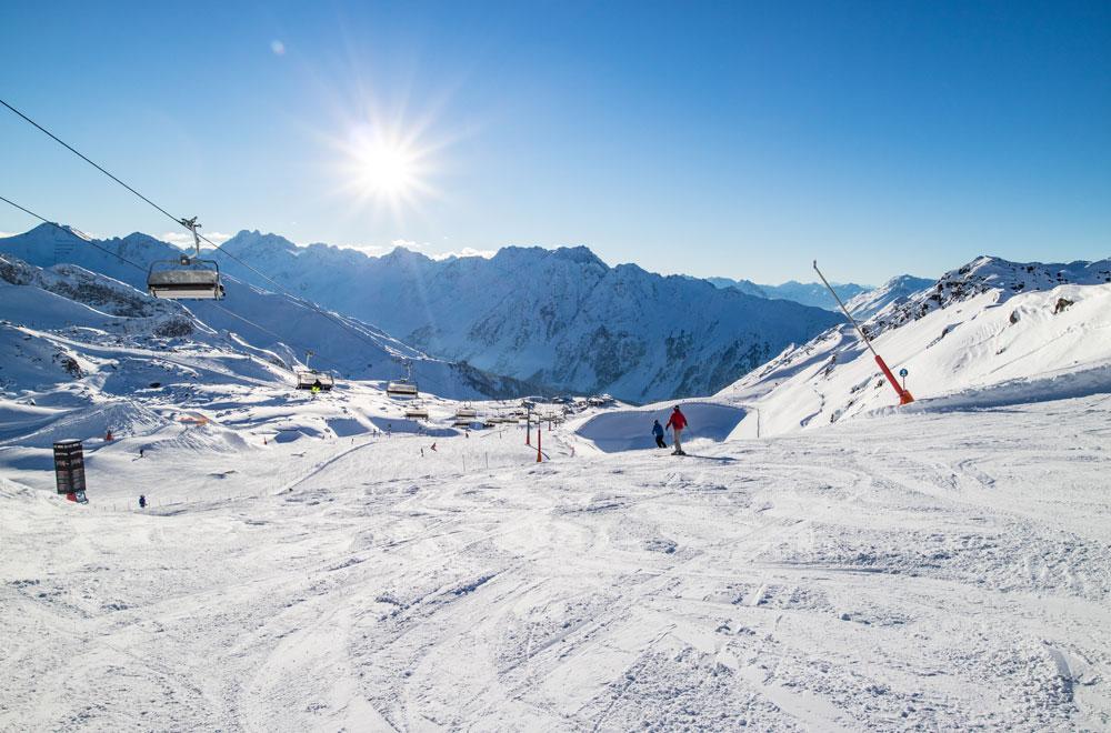 Sesselbahn im Skigebiet Ischgl © TVB Paznaun - Ischgl