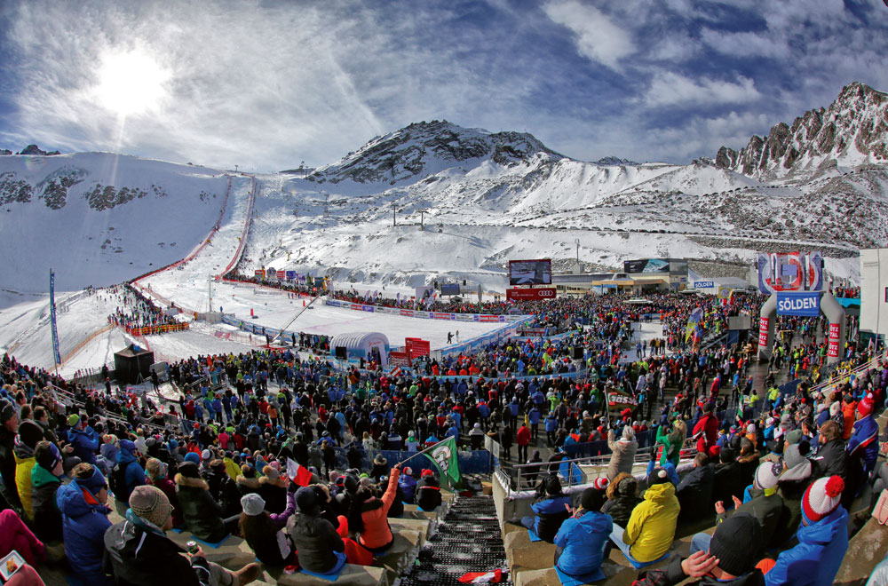 Skiweltcup in Sölden © Ötztal Tourismus / Isidor Nösig
